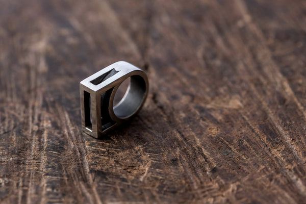 Prism Play Flat Top Ring