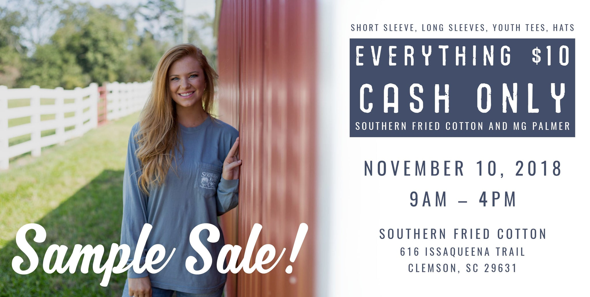 2018 Sample Sale