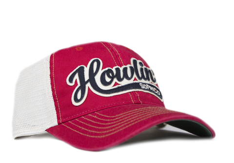 Howlin' SoFriCo - Southern Fried Hat - Barn Red