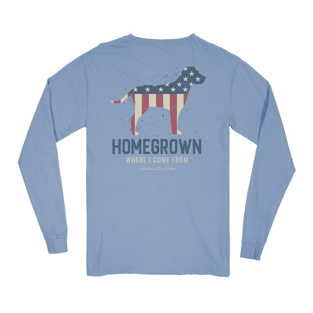 Patriotic Homegrown - Faded Jeans