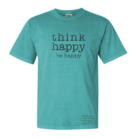 Think Happy - Front Print