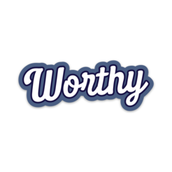 Worthy - Decal