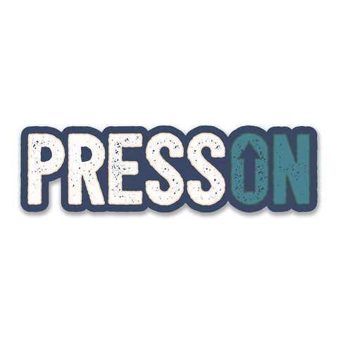 Press On - Decal