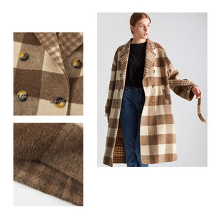 2020 New Double Face Wool Coat