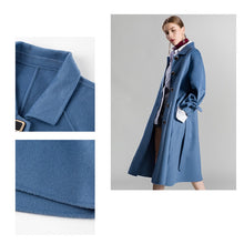 Load image into Gallery viewer, 2020 New Double Face Cashmere Coat