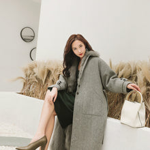 Load image into Gallery viewer, 2020 New Fox Liner Cashmere Coat