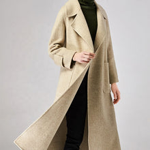 Load image into Gallery viewer, 2019 New Cashmere Coat Jacket Woman Wool - Buy Cashmere Coat,Wool Jacket,Jacket Woman Wool Product on Alibaba.com
