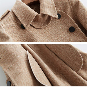 2020 New Full Length Double Face Wool Coat