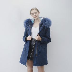 Fox Fur Full-Lined Parka