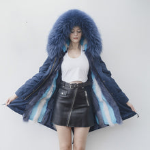 Load image into Gallery viewer, Fox Fur Full-Lined Parka
