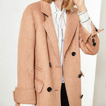 Load image into Gallery viewer, 2020 New Double Face Camel Wool Coat