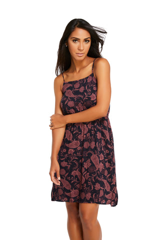 Kasey Spaghetti Strap Midi Dress