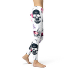 Womens Day Of The Dead Leggings