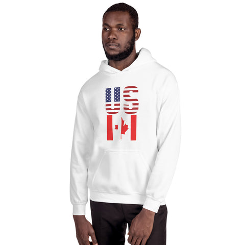 "USA & Canada ""US EH"" - Unisex Hoodie"