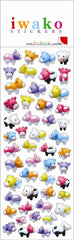 Cows Iwako Stickers