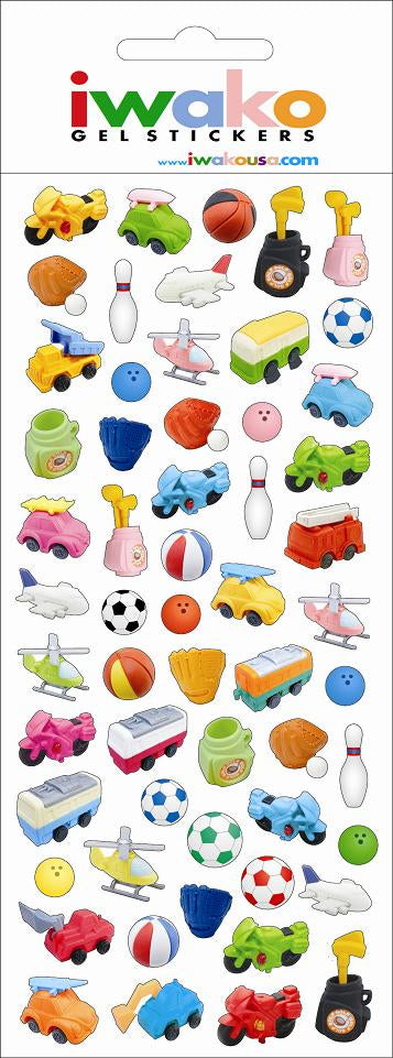 Iwako Toys Stickers
