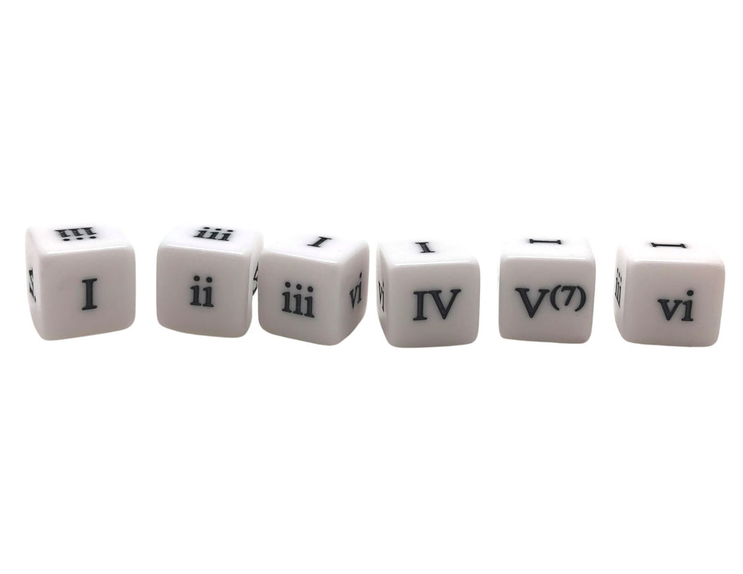 16 mm Roman Numeral Chords - Set of 6