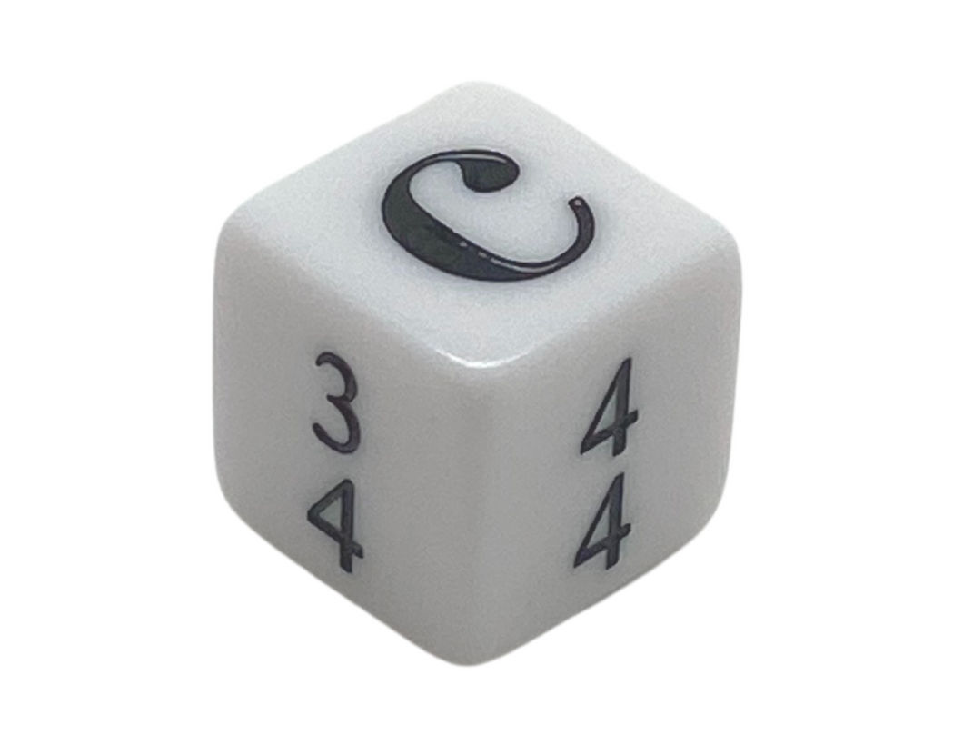 16 mm Simple Time Signature Dice - Set of 15