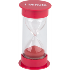 1 Minute Sand Timer Medium (red)