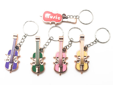 Violin Key Chain