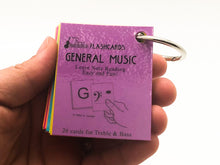 Load image into Gallery viewer, General Music Mini Laminated Flashcards