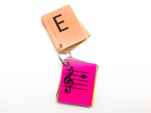 General Music Mini Laminated Flashcards
