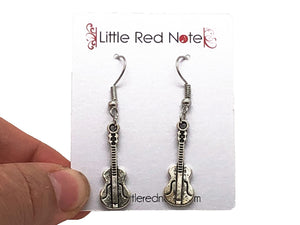 Guitar Dangle Earrings
