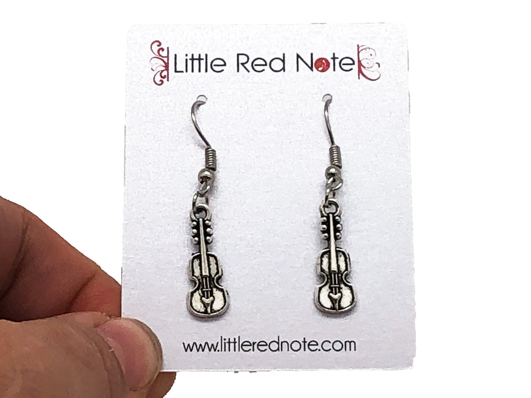 Violin Viola Cello Dangle Earrings