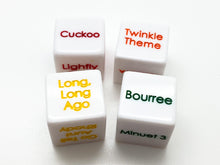 Load image into Gallery viewer, Suzuki Flute Dice Set - Book 1
