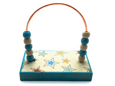 Stars Pastel Colors Bead Counter