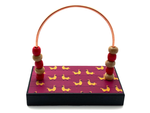 Llamas Magenta Bead Counter