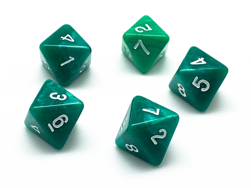 D8 Eight Sided Dice - 5