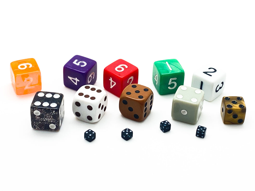 Dice Grab Bag - 14 D6