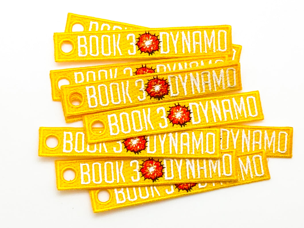 Book 3 Dynamo - Yellow - 10 pack