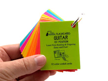Load image into Gallery viewer, Guitar Mini Laminated Flashcards