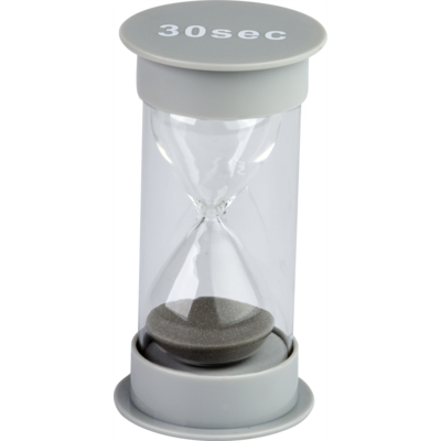 30 Second Sand Timer Medium (gray)