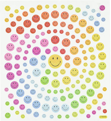 StickerKing Smiles Glitter Stickers