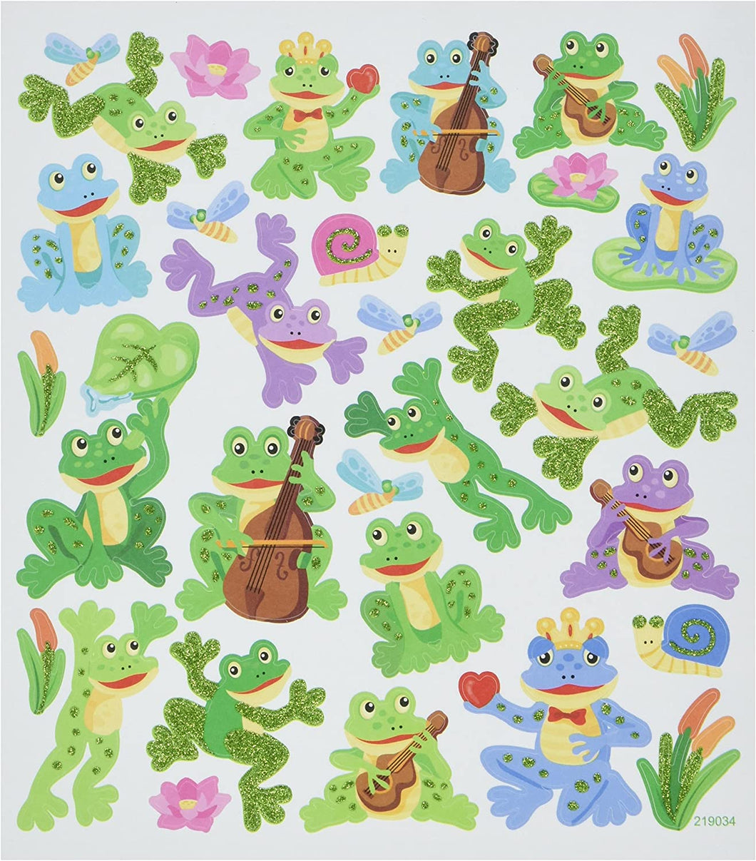 StickerKing Frogs Shiny Stickers