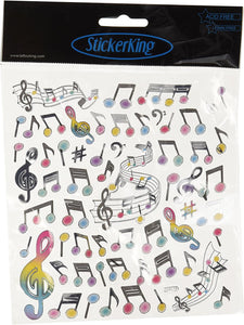 StickerKing Music Shiny Stickers