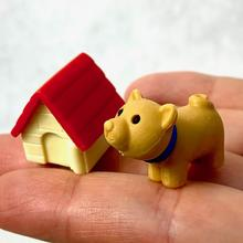 Dog with House Eraser