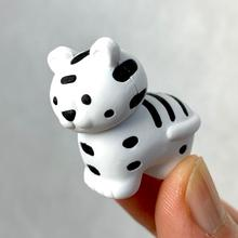 Tiger Eraser - White