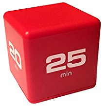 Cube Timer 5, 10, 20, 25 Red