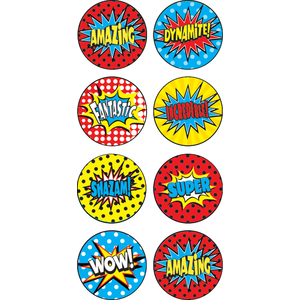 Super Hero Mini Stickers