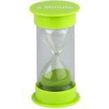 5 Minute Sand Timer Medium (green)