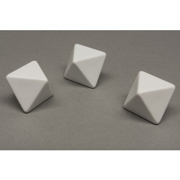 8-sided (d8) Blank Dice