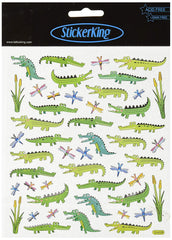 Crocodile Shiny Stickers