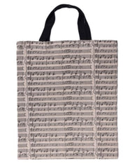 Music Staff Music Tote Bag