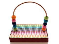 Chevron Mini Rainbow Bead Counter