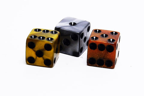 Olympic Pearlized Spot Dice - 12mm - d6