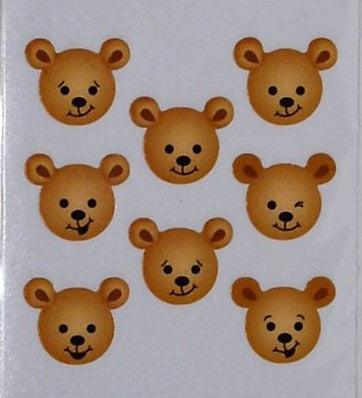 Sandylion Bear Stickers